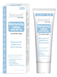 SPF 30 oil free hydrating lotion